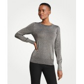 Shimmer Crew Neck Sweater