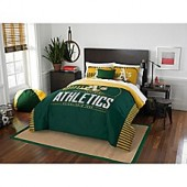 MLB Oakland Athletics Grand Slam Comforter Set