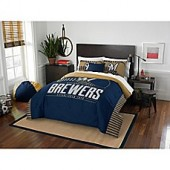 MLB Milwaukee Brewers Grand Slam Comforter Set
