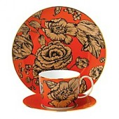 Wedgwood Vibrance 3-Piece Place Setting in Orange