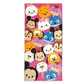 Disney Tsum Tsum Beach Towel in Pink