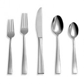 Cambridge Arden Satin 20-Piece Flatware Set