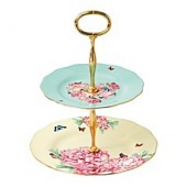 Miranda Kerr for Royal Albert Blessings/Joy 2-Tier Cake Stand