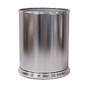 Wentworth Metal Wastebasket