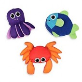Sassy Soft Swimmers Bath Toys