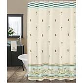 Lenox British Colonial 72-Inch Fabric Shower Curtain