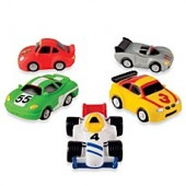 Elegant Baby Racing Car Squirties Bath Set