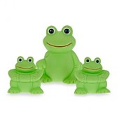 Vital Baby Play N Splash 3-Pack Frogs