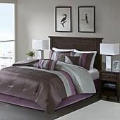 Amherst Plum 7-Piece Comforter Set