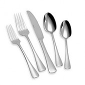 Oneida Caswell 65-Piece Flatware Set