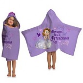 Disney Sofia the First Cape-Style Hooded Towel