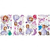 RoomMates Disney Sofia the First Peel and Stick Wall Decals