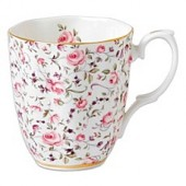 Royal Albert Confetti Vintage Mug in Rose
