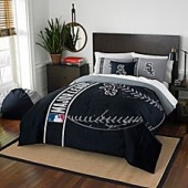 MLB Chicago White Sox Embroidered Comforter Set