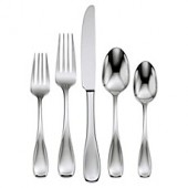 Oneida Voss Satin 45-Piece Flatware Set