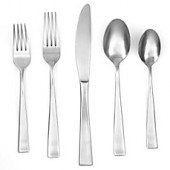 Cambridge Silversmiths Arden Satin 40-Piece Flatware Set (Service for 8)