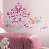 Disney Princess Crown Peel and Stick Giant Wall Decals