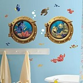 Disney Finding Nemo Peel and Stick Giant Wall Decals