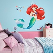 Disney The Little Mermaid Giant Peel and Stick Wall Decals