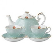 Royal Albert Polka Rose Tea for 2