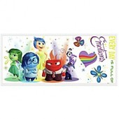 York Wallcoverings Disney Pixar Inside Out Burst Peel and Stick Giant Wall Decals (Set of 6)