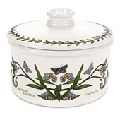 Portmeirion Botanic Garden 5-Inch Covered Round Mini Casserole Dish