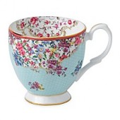 Royal Albert Candy Sitting Pretty Vintage Mug
