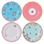 Royal Albert Candy Salad Plates (Set of 4)