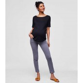 Maternity Skinny Crop Jeans