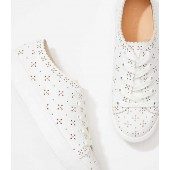 Eyelet Lace Up Sneakers