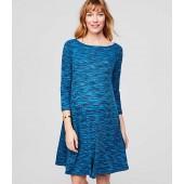 Maternity Spacedye Swing Dress