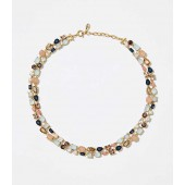 Mixed Stone Statement Necklace