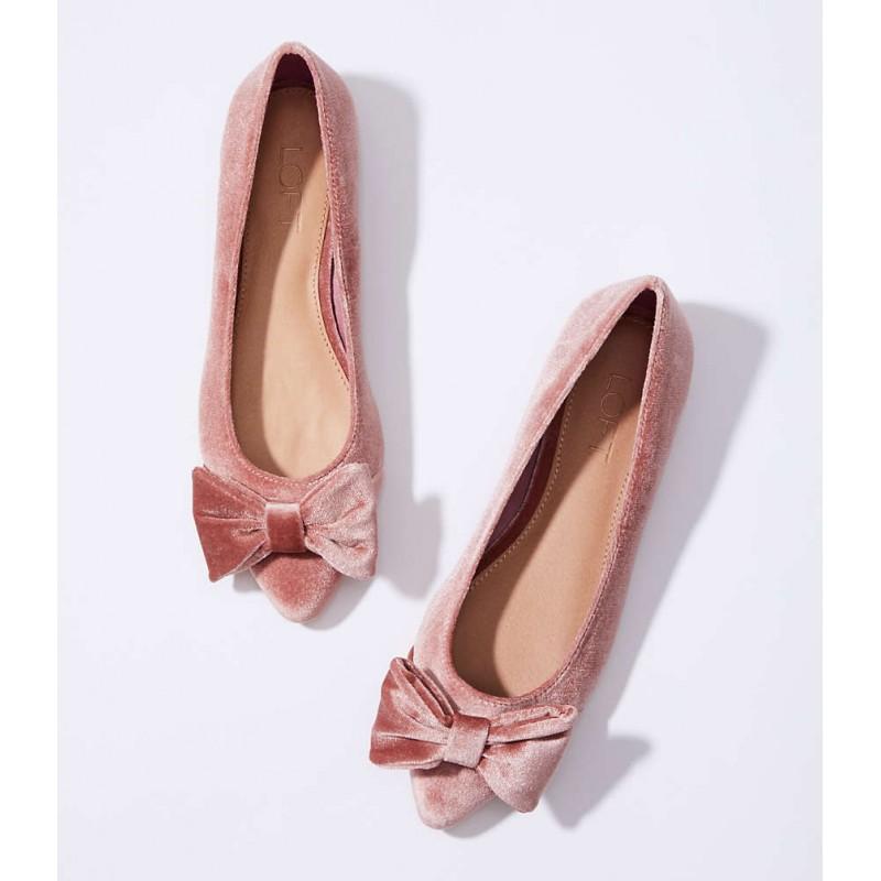 Velvet Bow Flats