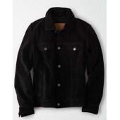 AE Suede Trucker Jacket