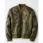 AEO Reversible Quilted Bomber Jacket