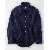 AE Seriously Soft Poplin Buttondown Shirt