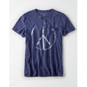 AE Striped Graphic Tee