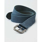 AEO Distressed Dyed Leather Belt