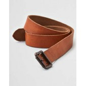 AEO Distressed Riveted Leather Belt