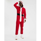 AEO Santa One-Piece Pajama Costume