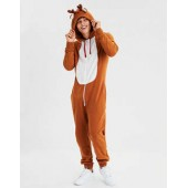 AEO Reindeer One-Piece Pajama Costume