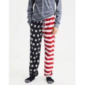 AEO Americana Flannel PJ Pant