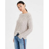 AE Impossibly Soft Cable Knit Sweater