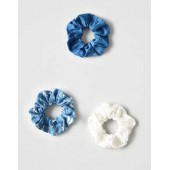 AEO Denim Scrunchie 3-Pack