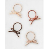 AEO Bow Hair Tie 4-Pack