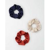 AEO Neutral Stripe Scrunchie 3-Pack