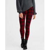 AEO Buffalo Plaid Sweater Legging