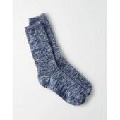 AEO Marled Rib Crew Sock