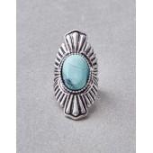 AEO Large Turquoise Ring