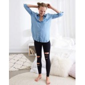 Aerie CHILL High Waisted Slash Legging